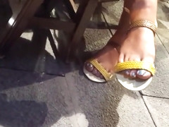 Filming mature fr s hot big feets sexy blue toes