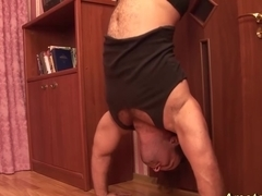flexible acrobatic sex couple