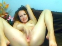Constricted fur pie redhead beauty fingering