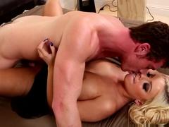 Best pornstars Connor Maguire, Britney Amber in Hottest Blonde, Big Tits sex video