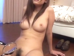Incredible Japanese girl in Hottest Girlfriend JAV clip
