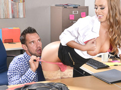 Jill Kassidy & Johnny Castle in NaughtyOffice