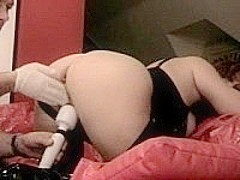 Fat Brunette GF Fisted and Toyed