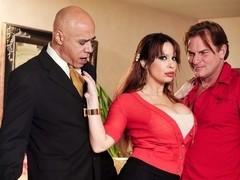 Alyssa Lynn & Evan Stone in Seduced By The Boss's Wife #04, Scene #02