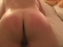 Subwife: spank and fuck on new year