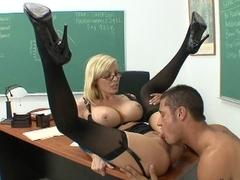 I fucked my hot teacher Ms. Holly Sampson