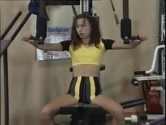 Sporty gal enjoys anal fuck adventure