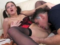 HornyOldGents Scene: Jaclyn and Frank