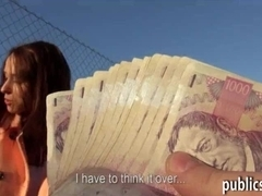 Eurobabe fucked with pervert dude in exchange for money