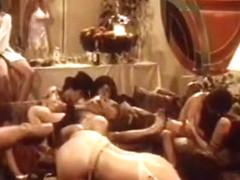 Exotic bald retro clip with Rhonda Jo Petty and Richard Pacheco