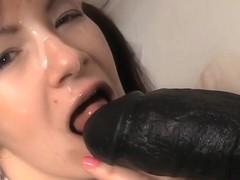 Filthy and slutty schoolgirl enjoys crazy fun sex