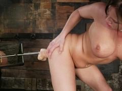 Amazing fetish porn scene with crazy pornstar Tory Lane from Fuckingmachines