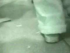 White and tight yoga pants girl underskirt voyeur video