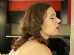 Horny pornstar Lucy Bell in incredible college, masturbation adult video