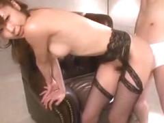 Horny Japanese whore Sae Aihara in Incredible Blowjob/Fera, Wife JAV clip