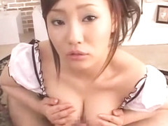 Incredible Japanese whore Rika Aiuchi in Hottest Handjobs, Blowjob/Fera JAV clip