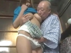 Exotic Japanese slut in Incredible Oldie, Wife JAV clip