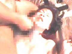 Hottest Japanese model Riko Tachibana, Emi Koike, Koyuki Morisaki in Horny Doggy Style, Hardcore J.