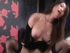 Crazy Japanese slut Akari Hoshino in Incredible Stockings/Pansuto, POV JAV clip