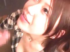 Exotic Japanese model Nana Konishi in Hottest Handjobs, Cougar JAV movie