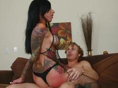 Crazy pornstars Michael Vegas, Lily Lane in Fabulous Emo, Stockings adult scene