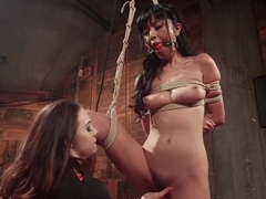 Crazy anal, fetish xxx scene with amazing pornstars Chanel Preston and Marica Hase from Whippedass