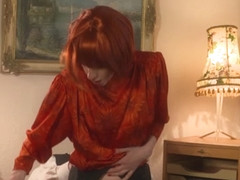 Valeria Jones in Valeria Jones, a German redhead who loves to fuck - MMVFilms