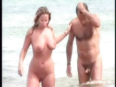 Undressed Beach Voyeur two