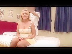 Non-Professional Golden-Haired Wife Massage (PTS-162) Scene 4