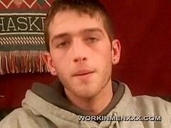 WorkinmenXXX Video: Young Blake Beats Off