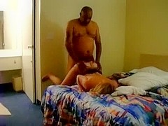 Amateur interracial fuck with cheating wife