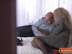 MAGMA FILM Casting he Milf ###ary