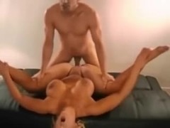 Large melons breasty golden-haired homemade movie