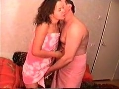 Horny Homemade clip with Brunette, Russian scenes