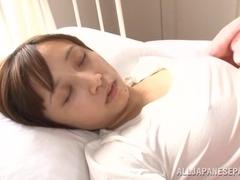 Alluring Asian milf Ayumi Kimino gets a hot cock ride