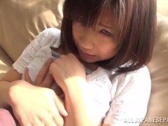 Koharu Aoi gives amazing blowjob before sex