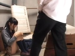 Slutty Jap enjoys a dick in Japanese hardcore movie