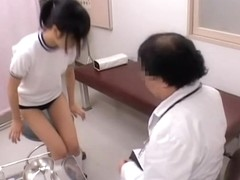 Voyeur video with asian cunt fingered by the gynecologist