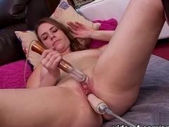 Crazy pornstars Kasey Warner, Alisha Adams in Hottest Solo Girl, Dildos/Toys xxx scene