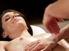 Exotic pornstar Kiera Winters in Crazy Massage, Lesbian sex video