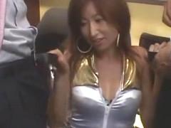 Incredible Japanese whore in Fabulous Public, Facial JAV clip