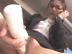 Crazy Japanese whore Anri Suzuki in Fabulous Cumshots, Dildos/Toys JAV clip