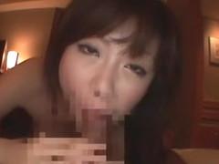 Hottest Japanese model Rio Hamasaki in Exotic POV, Cumshots JAV clip