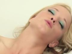 Horny pornstar Jewels West in amazing blonde, dildos/toys porn scene
