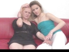 Serbian granny and legal age teenager (Erzika and Ivana) By KRMANJONAC