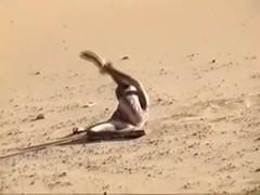 The freakiest teaser movie scene with my hot girl on the beach