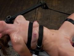 Amazing fetish xxx movie with crazy pornstar Ami Emerson from Fuckingmachines