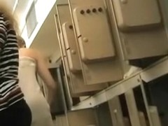 Girl loses off panty and bends over on dressing room spy cam