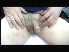 Tiny Cock Examined, Fondled Both Small Dick and Balls and Showing Every Small Detail of this Unusu.