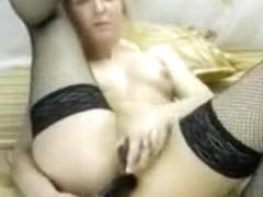 Amazing Homemade video with Stockings, Webcam scenes